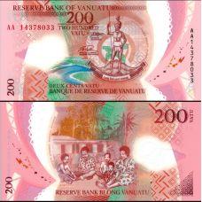 Vanuatu 2014 200 Vatua P14 UNC