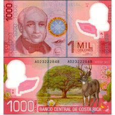 Costa Rica 2009 1000 Colones P274 UNC