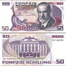 Itävalta 1986 50 Schilling P149 UNC