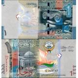 Kuwait 2014 1 Dinar P31 UNC