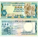 Ruanda 1988 1 000 Francs P21 UNC
