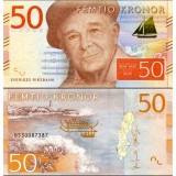 Ruotsi 2015 50 Kronor P70 UNC