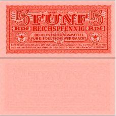 Saksa 1942 5 Reichspfennig PM33 UNC