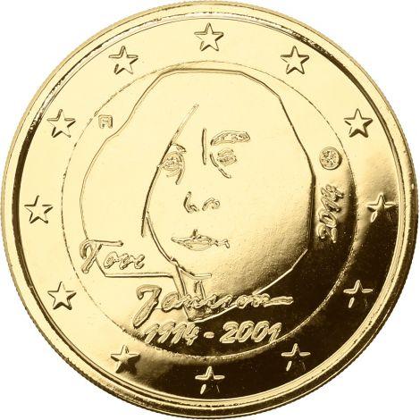 Suomi 2014 2 € Tove Jansson KULLATTU