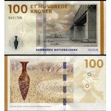 Tanska 2009 100 Kroner P66b UNC