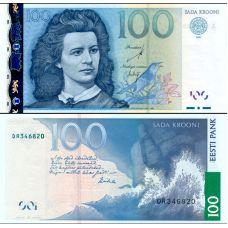 Viro 2007 100 Krooni P88b UNC