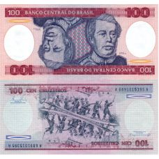 Brasilia 1984 100 Cruzeiros P198b UNC
