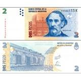 Argentiina 2010 2 Pesos P352 UNC