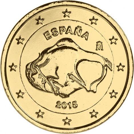 Espanja 2015 2 € Altamira KULLATTU