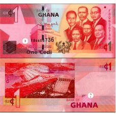 Ghana 2013 1 Cedi P37d UNC