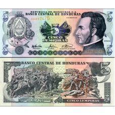 Honduras 2003 5 Lempiras P85c UNC