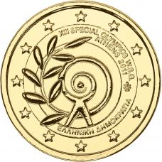 Kreikka 2011 2 € Special Olympics KULLATTU