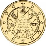 Kreikka 2014 2 € Jooniansaaret KULLATTU