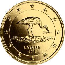 Latvia 2015 2 € Haikara KULLATTU
