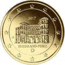 Saksa 2017 2 € Porta Nigra A KULLATTU