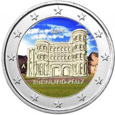 Saksa 2017 2 € Porta Nigra A VÄRITETTY