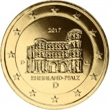 Saksa 2017 2 € Porta Nigra D KULLATTU