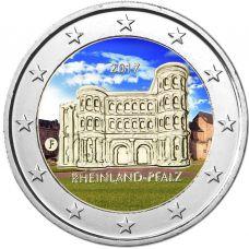 Saksa 2017 2 € Porta Nigra F VÄRITETTY