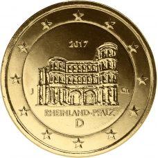 Saksa 2017 2 € Porta Nigra J KULLATTU