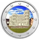 Saksa 2017 2 € Porta Nigra J VÄRITETTY