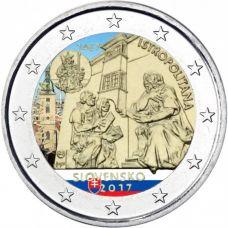 Slovakia 2017 2 € Universitas Istropolitana VÄRITETTY