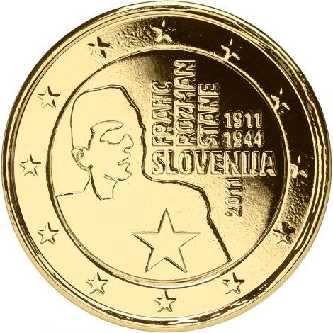 Slovenia 2011 2 € Franc Rozman KULLATTU