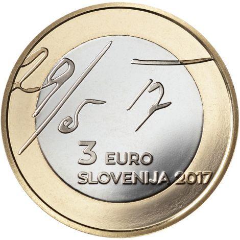 Slovenia 2017 3 € Toukokuun julistuksesta 100v UNC