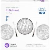 Suomi 2017 10 € Kultakausi HOPEA PROOF
