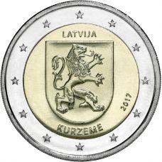 Latvia 2017 2 € Kurzeme UNC