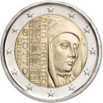 San Marino 2017 2 € Giotto UNC