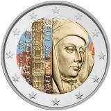 San Marino 2017 2 € Giotto VÄRITETTY