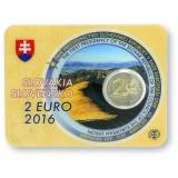 Slovakia 2016 2 € EU-puheenjohtajuus COINCARD