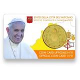 Vatikaani 2017 50 c COINCARD
