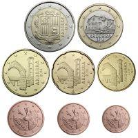Andorra 2018 1 c - 2 € Irtokolikot UNC