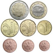 Andorra 2016 1 c - 2 € Irtokolikot UNC
