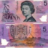 Australia 2008 5 Dollar P57f UNC