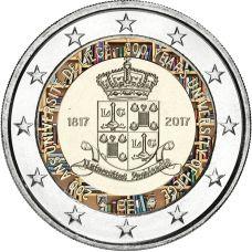 Belgia 2017 2 € Liègen yliopisto 200 vuotta VÄRITETTY