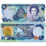 Caymansaaret 2008 1 $ P33c UNC