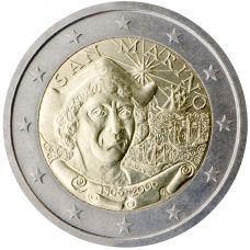 San Marino 2006 2 € Kolumbus Irtokolikko UNC