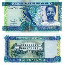 Gambia 2001 25 Dalasis P22a UNC