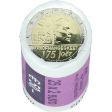 Luxemburg 2014 2 € Itsenäisyys 175 vuotta RULLA