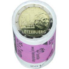 Luxemburg 2017 2 € Vapaaehtoinen asepalvelus RULLA