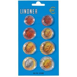 Säilytyskapseli, Lindner kaikille kolikoille 1 c – 2 € pakkaus