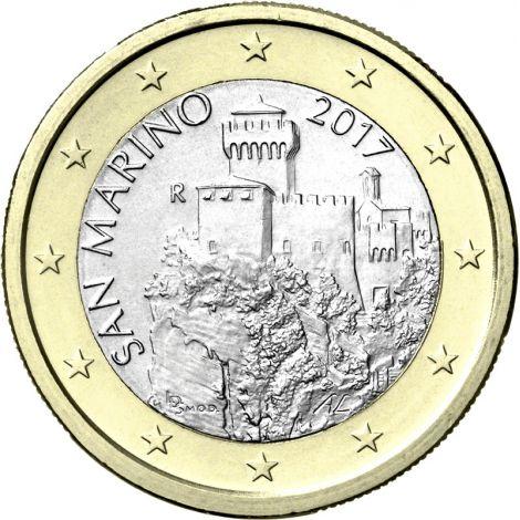 San Marino 2017 1 € UNC