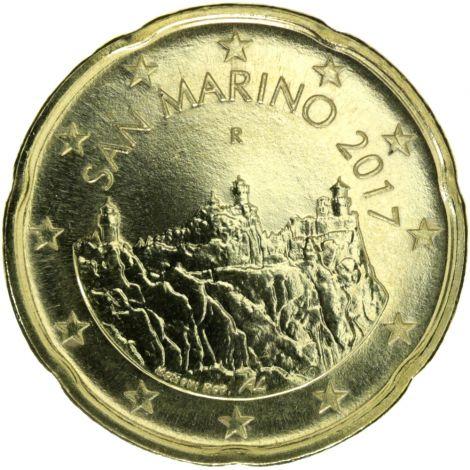 San Marino 2017 20 c UNC