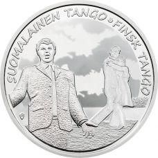Suomi 2017 10 € Suomalainen tango HOPEA PROOF