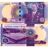 Tonga 2015 5 Pa'anga P45 UNC
