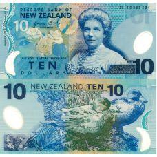 Uusi-Seelanti 2013 10 Dollar P186c UNC