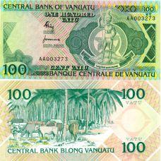 Vanuatu 1982 100 Vatua P1a UNC