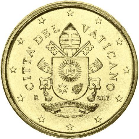 Vatikaani 2017 50 c UNC